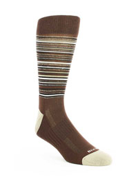 BROWN Ultimate Performance Sock by Tulliani