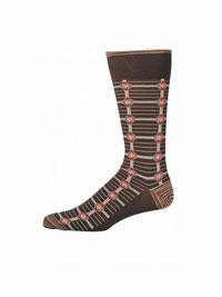 BROWN Luceria Socks by Robert Graham