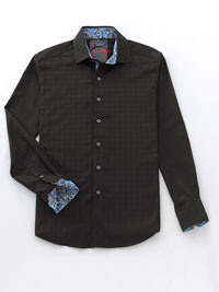 BLACK Sport Shirt by Robert Graham