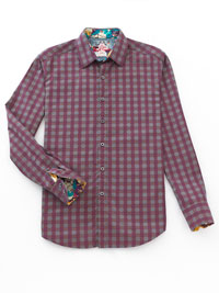 RUST Sport Shirt by Robert Graham