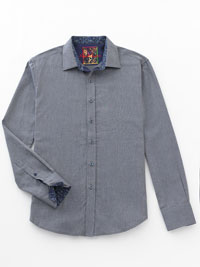 NAVY Sport Shirt by Robert Graham