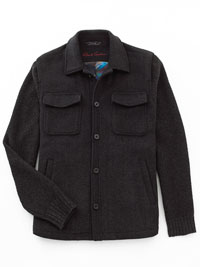CHARCOAL Jacket/Sweater Hybrid by Robert Graham