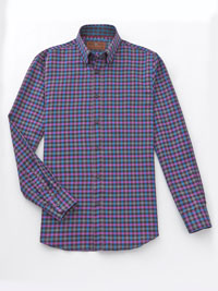 PURPLE                         Sport Shirt by James Tattersall