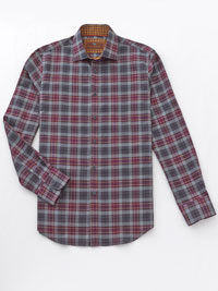 WINE Sport Shirt by James Tattersall