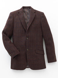 BURGUNDY Sport Coat by James Tattersall