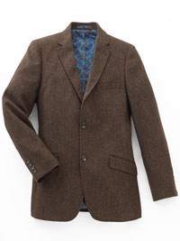 BROWN Sport Coat by James Tattersall