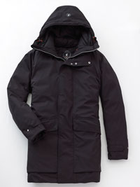 BLACK Heavy Parka  by Save the Duck