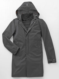 CHARCOAL Waterproof Jacket  by Save the Duck