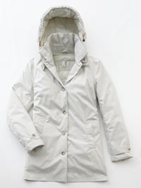 WHITE Ladies Coat by Save the Duck