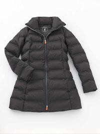 CHARCOAL Ladies Coat by Save the Duck