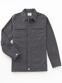 CHARCOAL Shirt Jacket by Agave