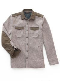 GRAY Shirt Jacket by Jeremiah