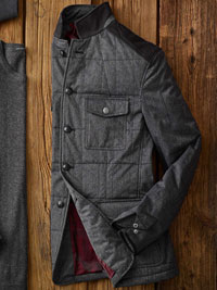CHARCOAL Utility Jacket by John Varvatos