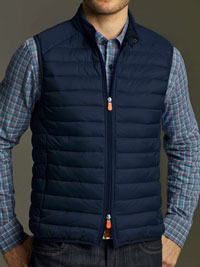 NAVY Quilted Vest by Save the Duck