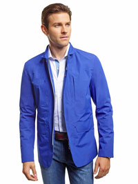 COBALT Coat by Save the Duck
