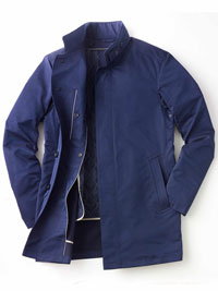 NAVY Car Coat by Sanyo