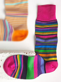 MULTI Socks by Bugatchi - Made in Italy
