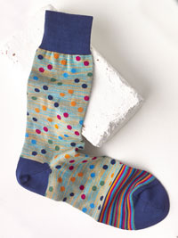 SAND Socks by Bugatchi - Made in Italy