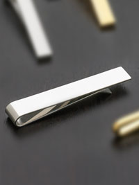 SILVER Stainless steel bar Tie Bar