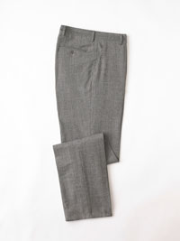 BLACK & WHITE Glen Plaid Trouser by Tom James