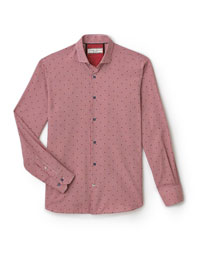 RED Sport Shirt by Tom James