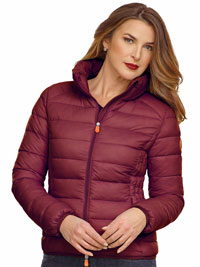 BURGUNDY Ladies Jacket by Save the Duck