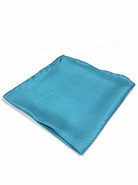 AQUA 100% Silk Pocket Square