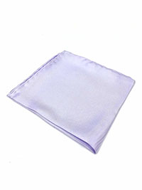 LAVENDER 100% Silk Pocket Square