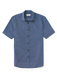 NAVY Sport Shirt by Tom James