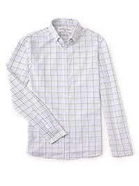 WHITE Sport Shirt by Mizzen & Main