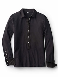 BLACK Blouse by Tom James