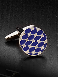 BLUE Cufflinks by Tom James