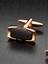 ONYX Cufflinks by Tom James