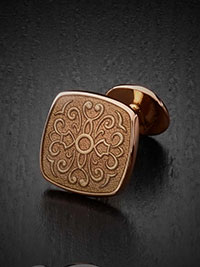 TAUPE Cufflinks by Tom James
