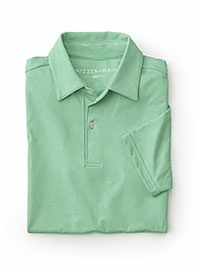 SEAFOAM Performance Fabric Polo by Mizzen and Main