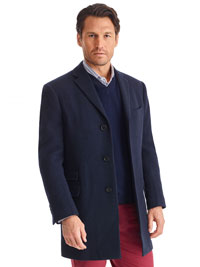 "CHA BLUE 35"" LP TWILL TOPCOAT"