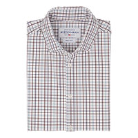 BURGUNDY SPORT SHIRT BY MIZZEN & MAIN