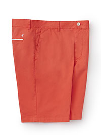 RED RG CASUAL BUTTON SHORTS