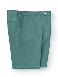 TEAL RG CASUAL BUTTON SHORTS