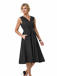 BLACK Judith Charles Dress