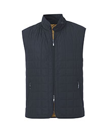 VEST-QUILTED NAVY