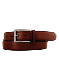 TAN Cognac Johnston & Murphy Dress Belt