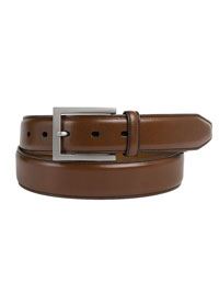 Brown Johnston & Murphy Dress Belt