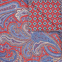 RED PR RV PAISLEY/NEAT 100%SI