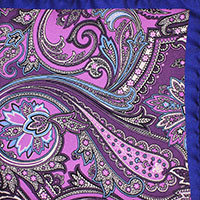 LAVENDER PRINT TWILL PAISLEY 100SI