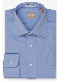 BLUE Pinpoint Spread Collar