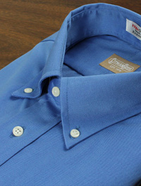 BLUE SHIRT-FRENCH BLU PINPOINT