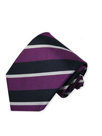 BC-Purple Repp Stripe