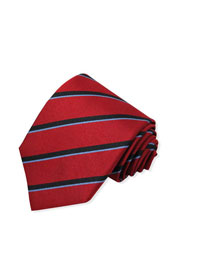 BC-Red Repp Stripe