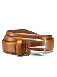 WALNUT DEARBORN BELT by Allen Edmonds